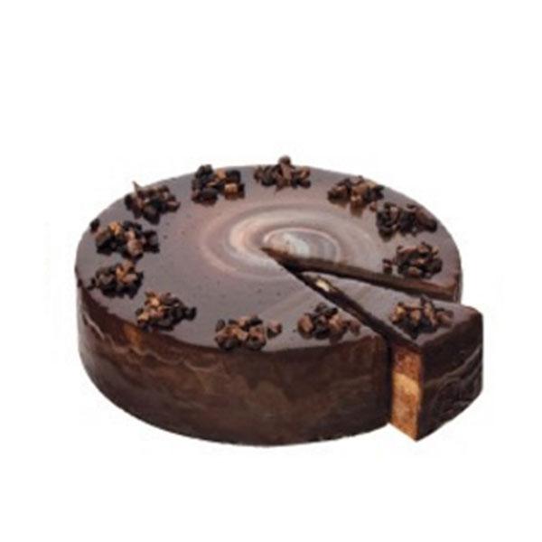 Siyah Çikolatalı Fıstıklı Pasta